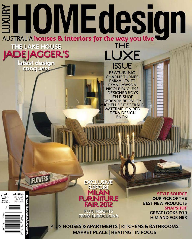 luxury interior design magazines
