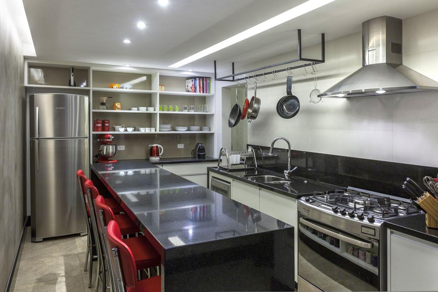 Cozinha Industrial Kitchen By S C A Cozinha De Apartamento