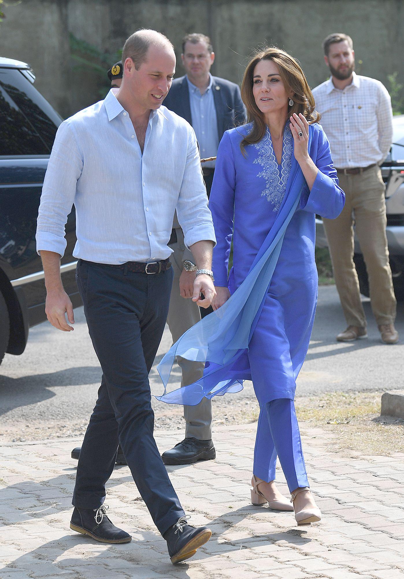 Prince William and Kate Middleton in Pakistan #princessdiana