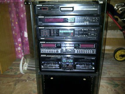 1980s Kenwood Stereo Componant System Component With Remote Audio Gumtree Australia