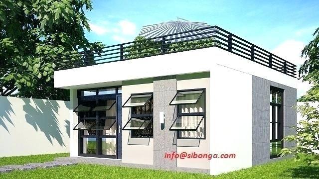 Deck Over Roof Design Simple House Design Philippines House Design Philippine Houses