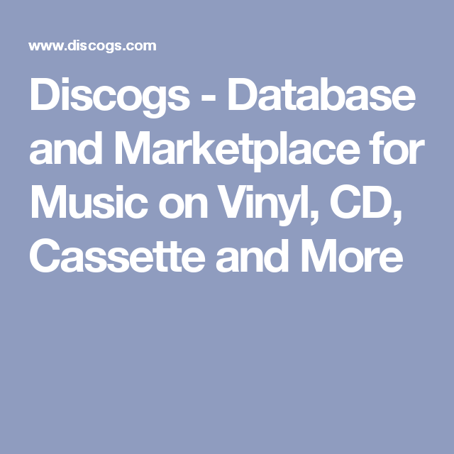 Language In 45 And 47 Stella Street: Database And Marketplace For Music On Vinyl, CD