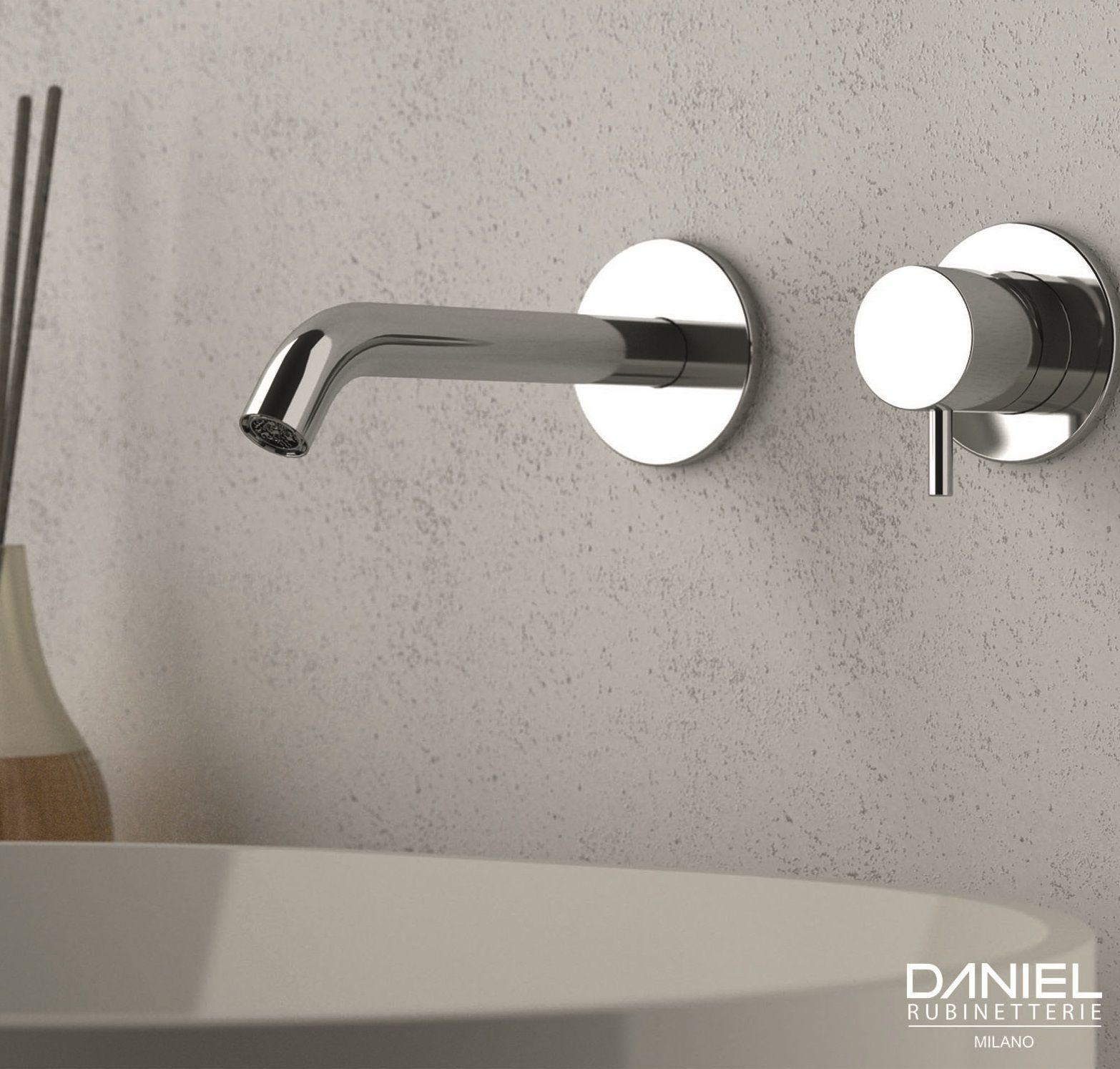 Single Lever Built In Basin Mixer From Tokyo Collection By Daniel