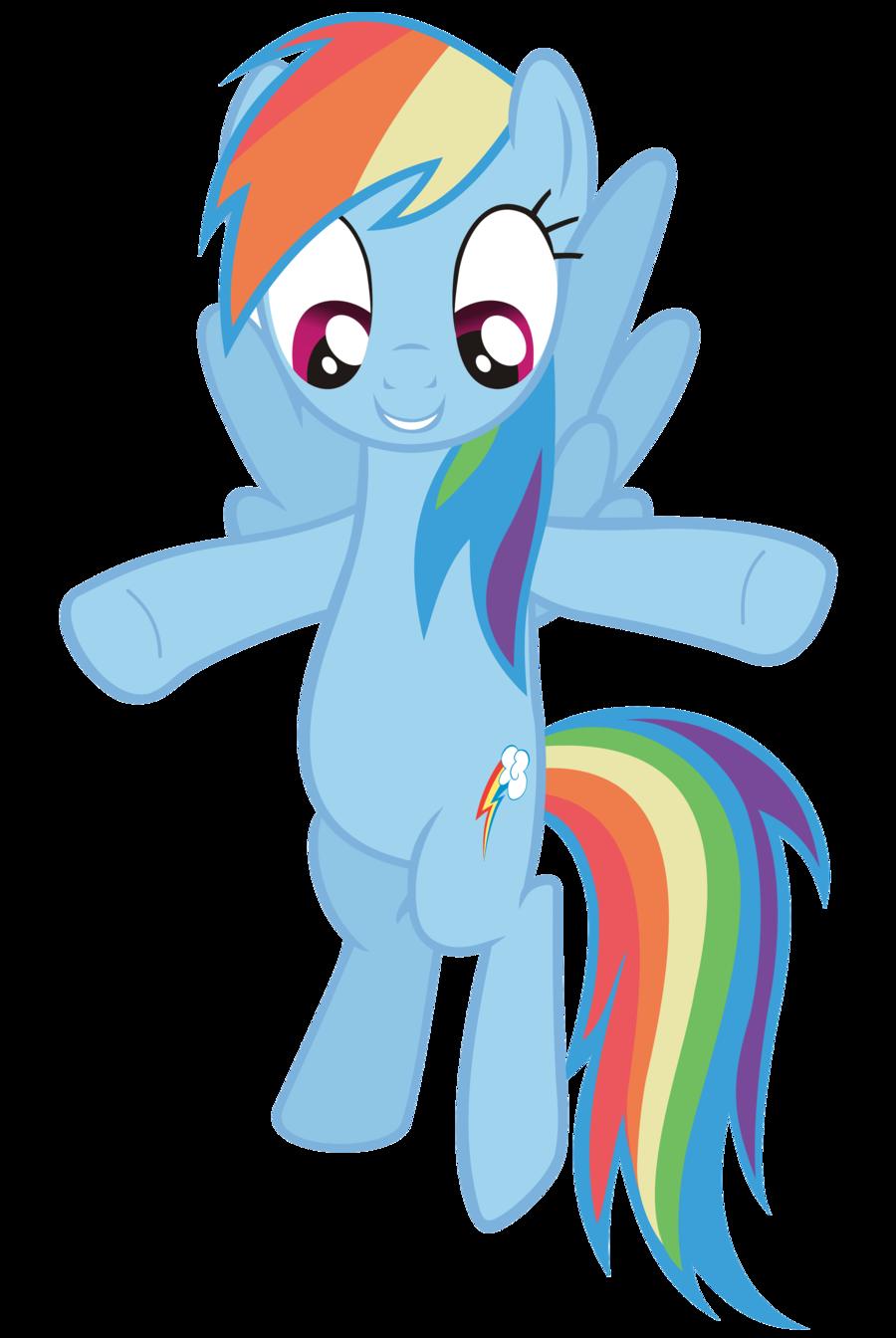 261209a4d34 Happy Rainbow Dash. Hasbro My Little Pony