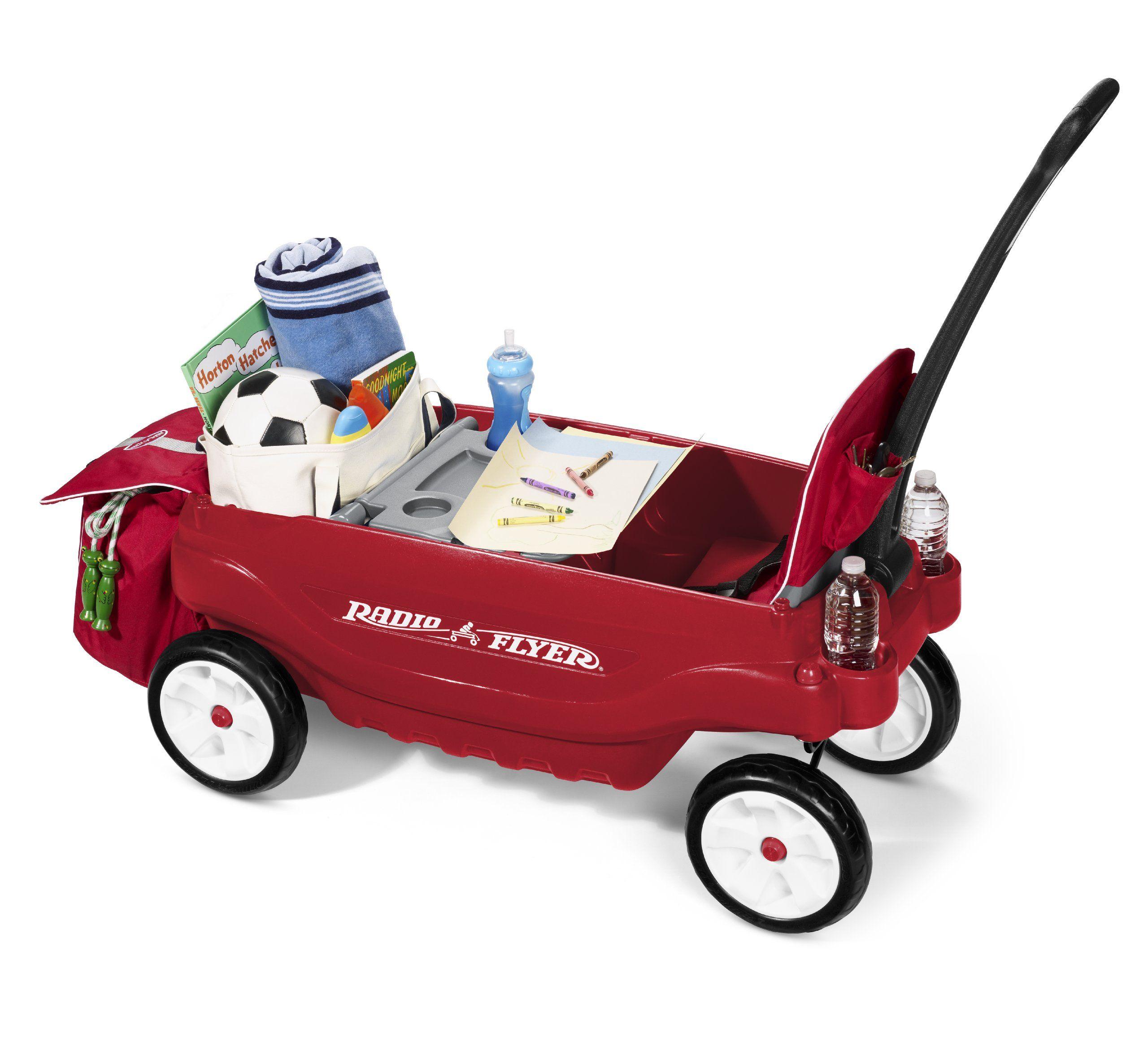 Amazon Com Radio Flyer The Ultimate Comfort Wagon Red Toys Games Radio Flyer Wagons Radio Flyer Birthday Toys