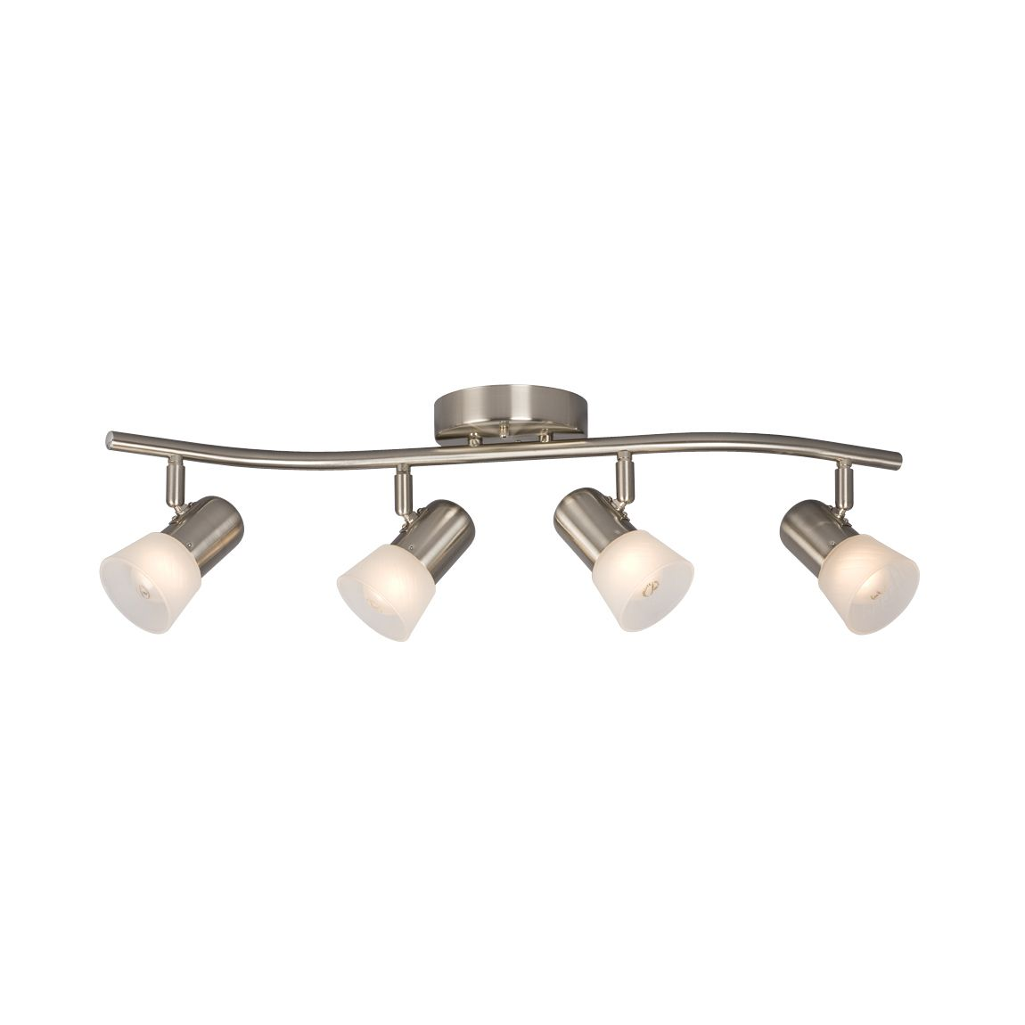 Lowes Track Lighting Fixtures: Galaxy Lighting 754174 Luna III 4-Light Track Lighting Kit