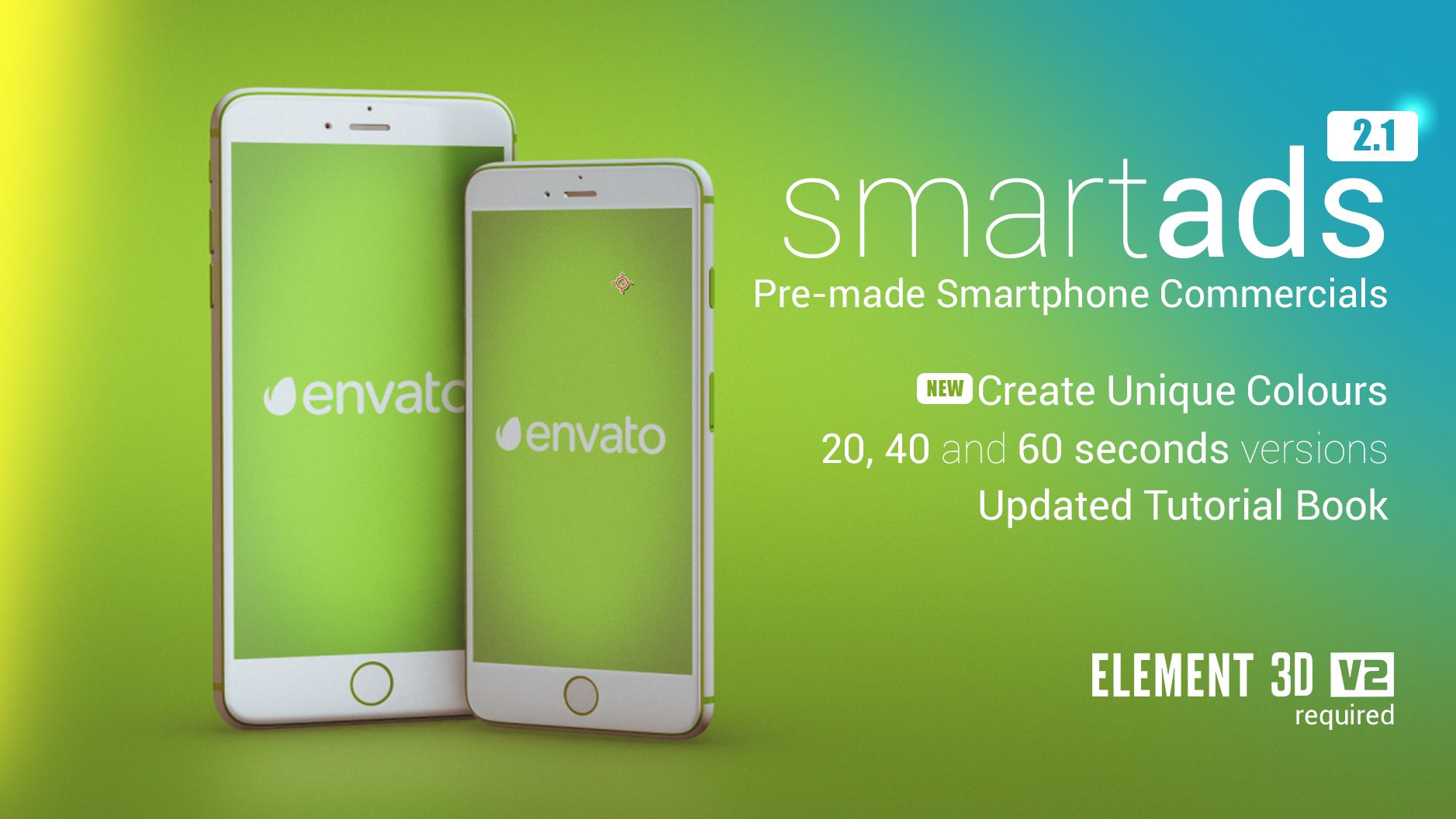 SmartAds Smartphone Commercial Template Available Now On Animland - After effects commercial template