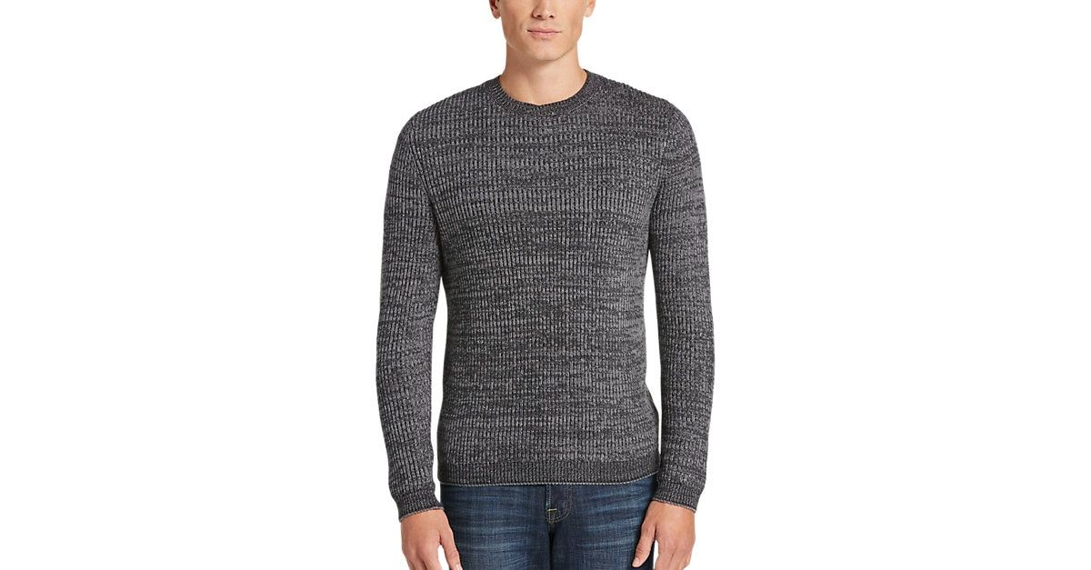 c0852a51f296 JOE Joseph Abboud Charcoal Crew Neck Sweater - Men's $19.99 Clearance  Sweaters from MensWearhouse. #MensWearhouse