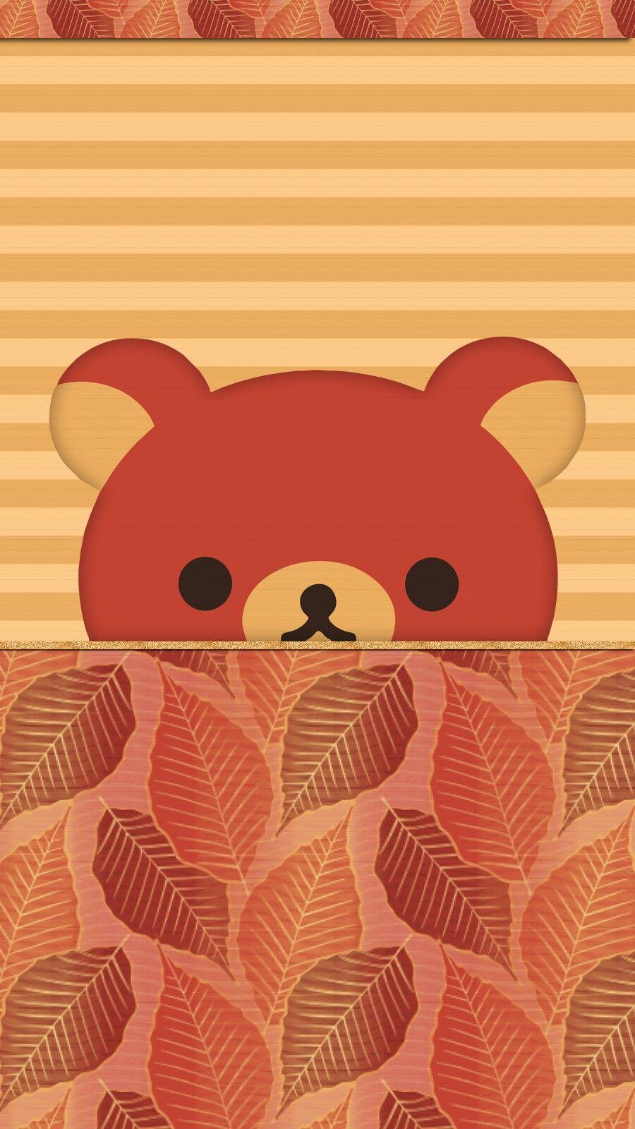 Autumn Rilakkuma Wallpaper Iphone Freebie Cartoon Wallpaper Iphone Ipod Wallpaper Cute Wallpapers