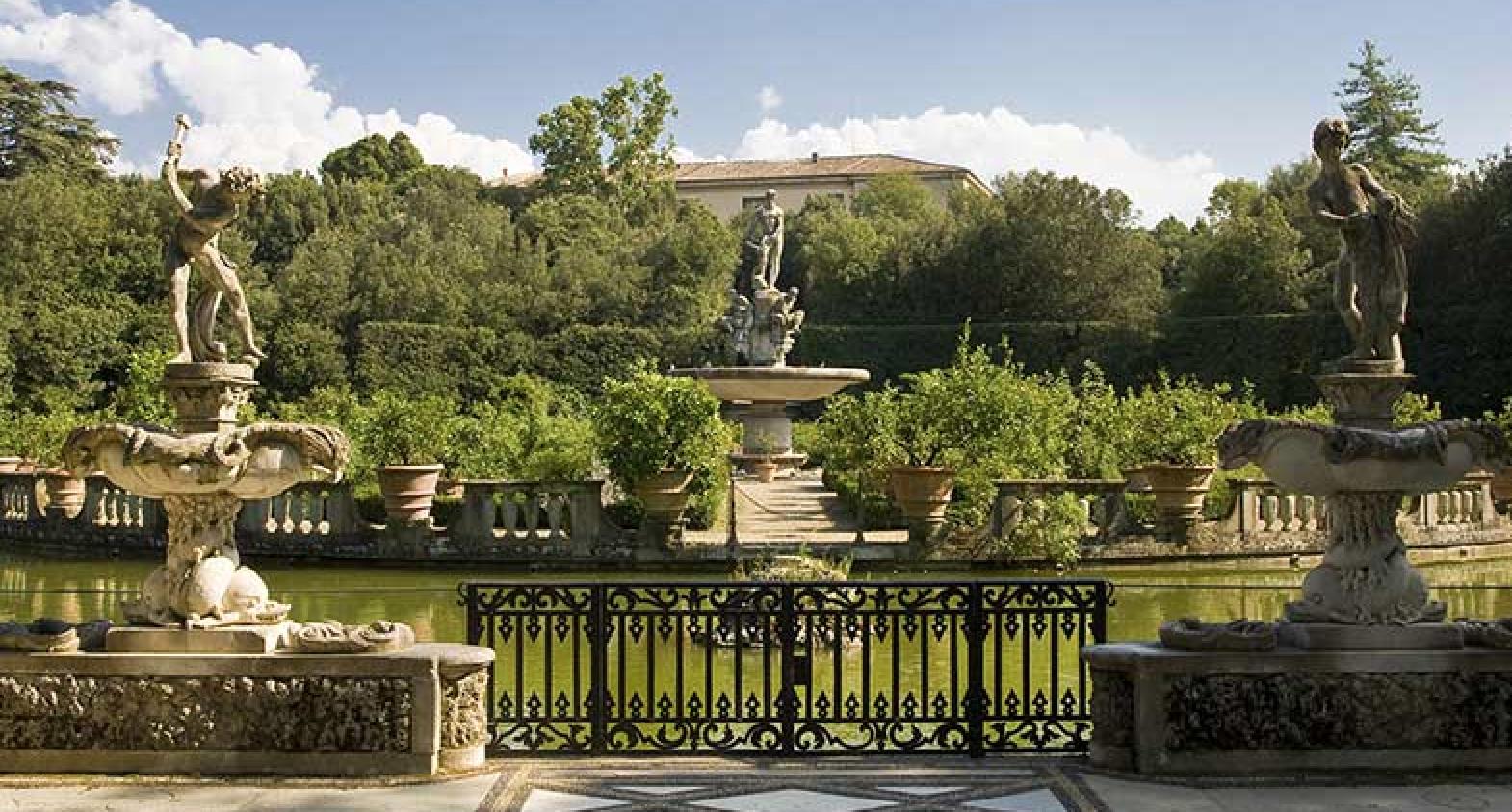 palais pitti jardin boboli lieux pinterest