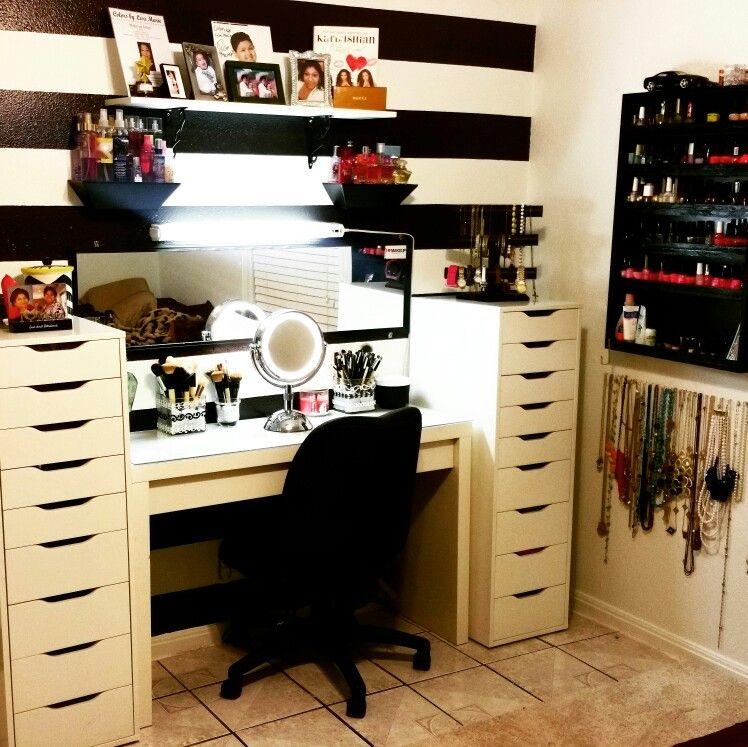 Sephora Inspired Makeup Vanity Glam Room Vanity Room
