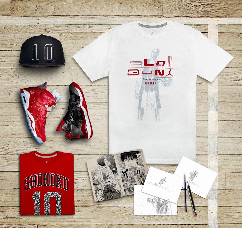 sale retailer 7fde1 fcc52 Slam Dunk x Air Jordan 6 Retro   Jordan Super.Fly 3
