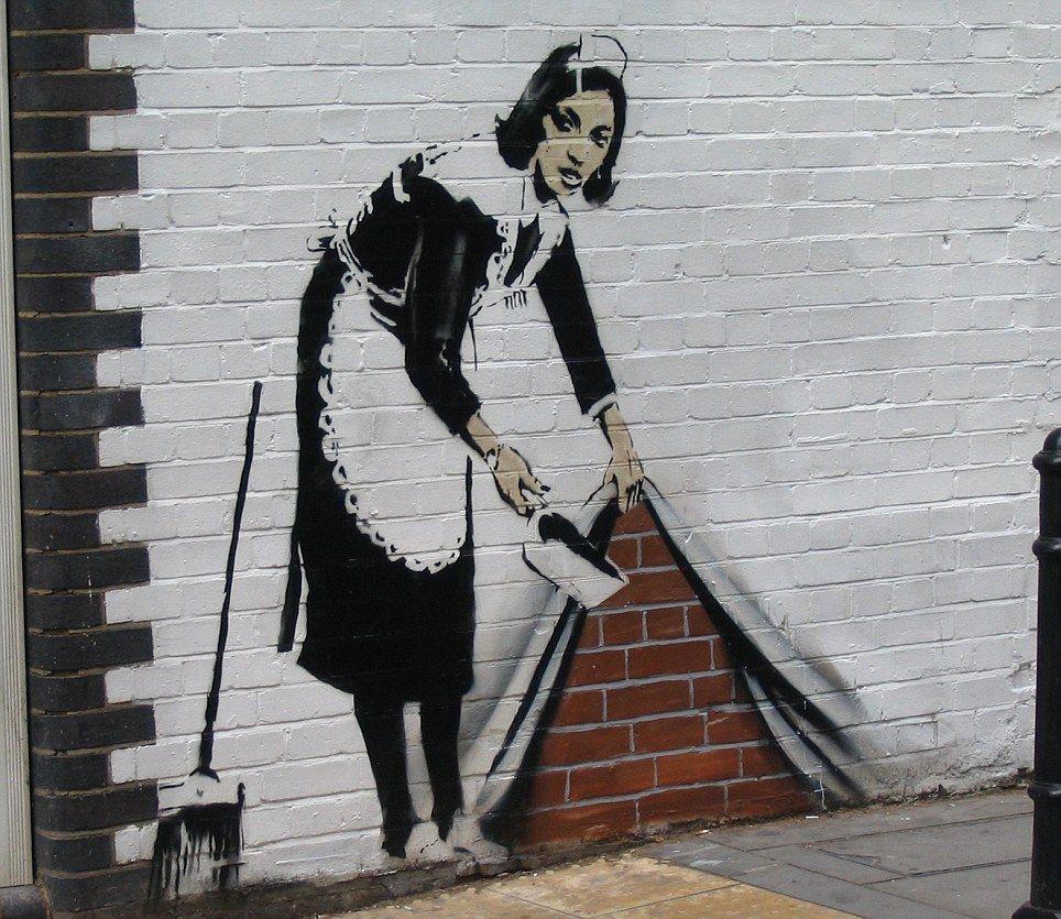 The reallife Banksy Guerrilla street artist's most