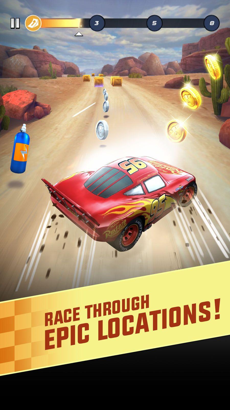Cars Lightning League RacingActioniosEntertainment