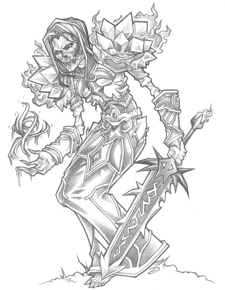 World Of Warcraft Drawings Bing Images Desenhos
