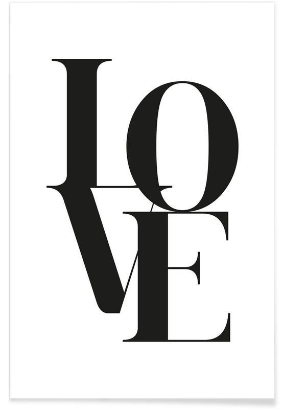 Love 2 von Froilein Juno als Premium Poster ✓ Jetzt online kaufen bei JUNIQE ✓ Zuverlässiger Versand ✓ Täglich neue Designs - Jetzt entdecken!