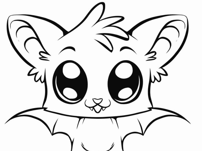 Big Animals Eyes Coloring Pags Cute Baby Animals Coloring Pages Cute Cartoon Animals With Big In 2020 Animal Coloring Pages Cute Coloring Pages Cartoon Baby Animals