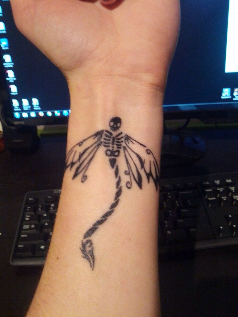 515522b94 Skeleton Dragonfly tattoo | tat ideas | Dragonfly tattoo design ...