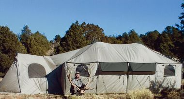 Cabelau0027s Ultimate Alaknak™ 12-ft. x 12-ft. Tent & Cabelau0027s Ultimate Alaknak™ 12-ft. x 12-ft. Tent | Tents Camping ...