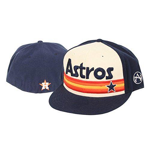 12588bcf94e ... reduced houston astros american needle flat bill baseball hat old  school 6e81d b3c07
