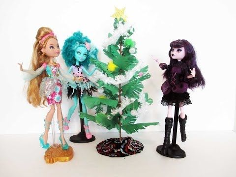How to make a doll Christmas Tree Tutorial by Chad Alan | Monster