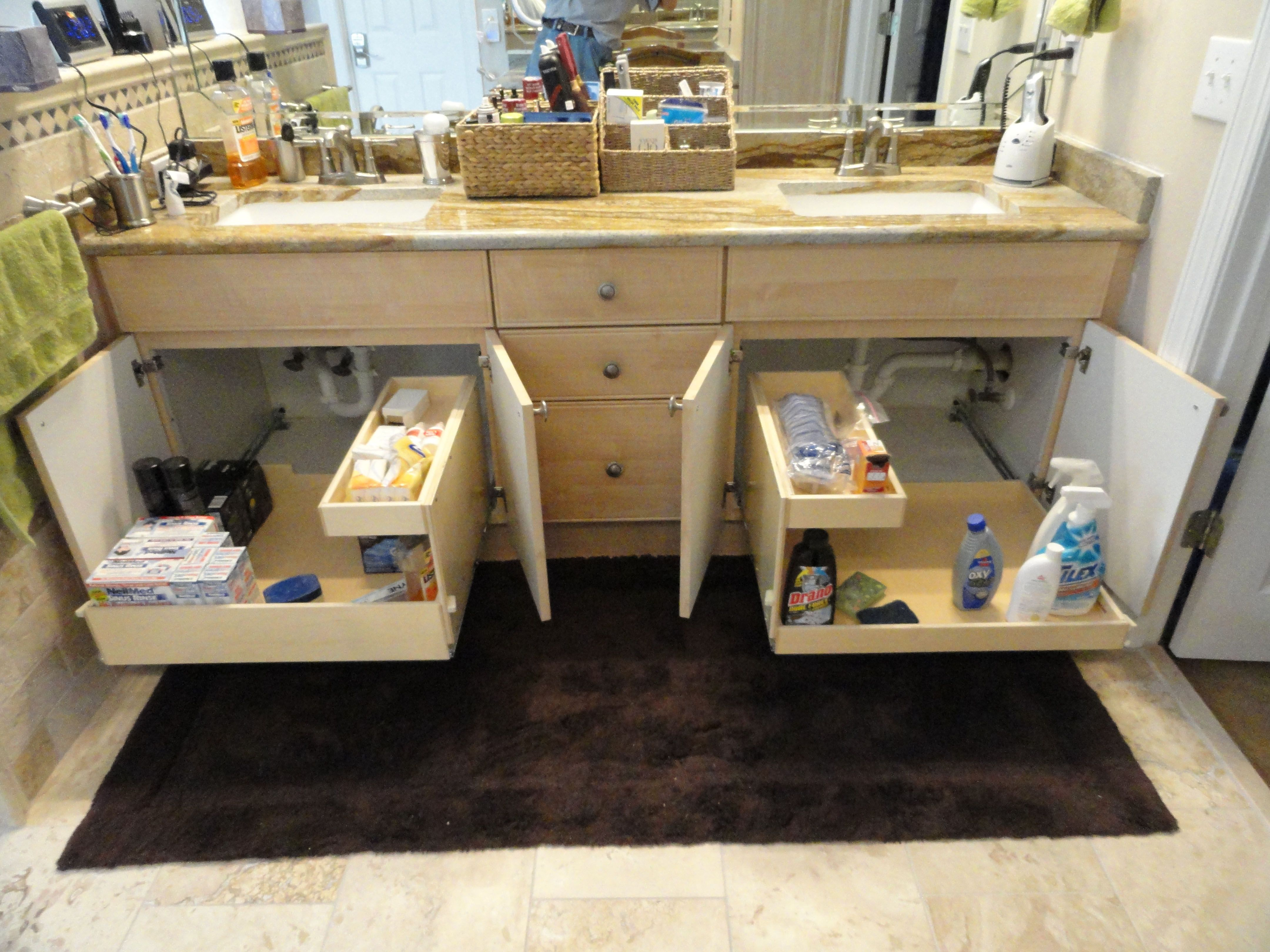 Photo Image  best Bathroom Organization images on Pinterest Bathroom organization Bathroom shelves and Bathroom cabinets