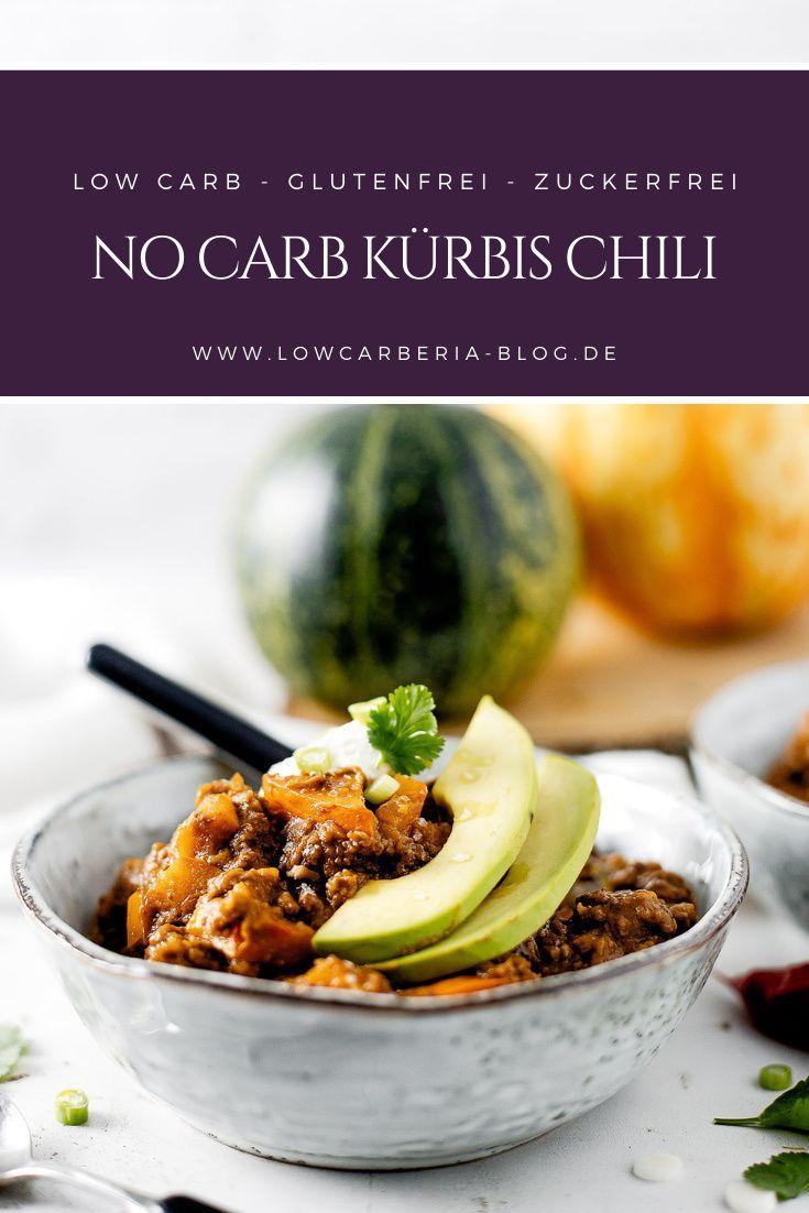 Heute gibt es ein leckeres Rezept mit Kürbis Chili Con Caren mit 10g Kohlenhydrate statt 50g Kohlenhydrate. So lecker, schnell gemacht und perfekt für den Herbst! #lowcarb #keto #rezepte #kürbischili