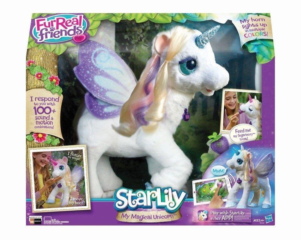 FurReal Friends My Magical Unicorn StarLily Pet Plush