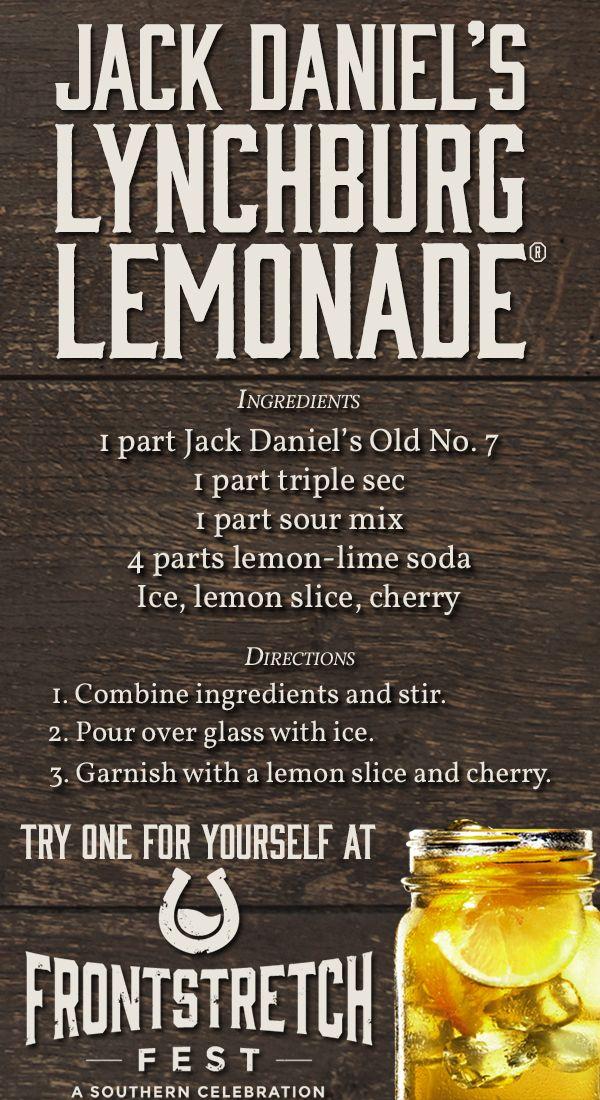 jack daniels lynchburg lemonade thirstythursday recipe. Black Bedroom Furniture Sets. Home Design Ideas