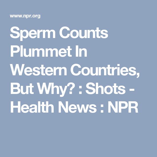 Tetanus affect sperm counts join told