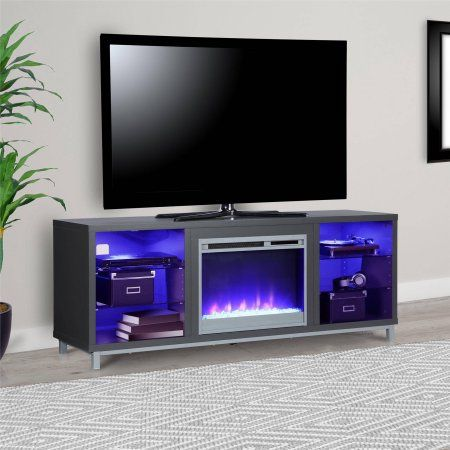 Lumina Fireplace Tv Stand For Tvs Up To 70 Inch Wide Multiple
