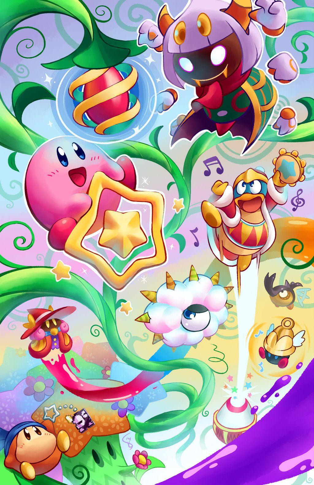 Kirby Triple Deluxe by Torkirby.deviantart.com on ...