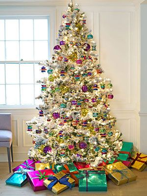 Festival Of Brights Jewel Tone Christmas Decorations Christmas Tree Pictures Christmas Tree Christmas Decorations