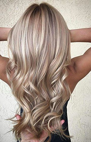 Photo of Details about Full Shine Clip In Hair Extensions 7Pcs 100g Ombre Remy Real Hair …