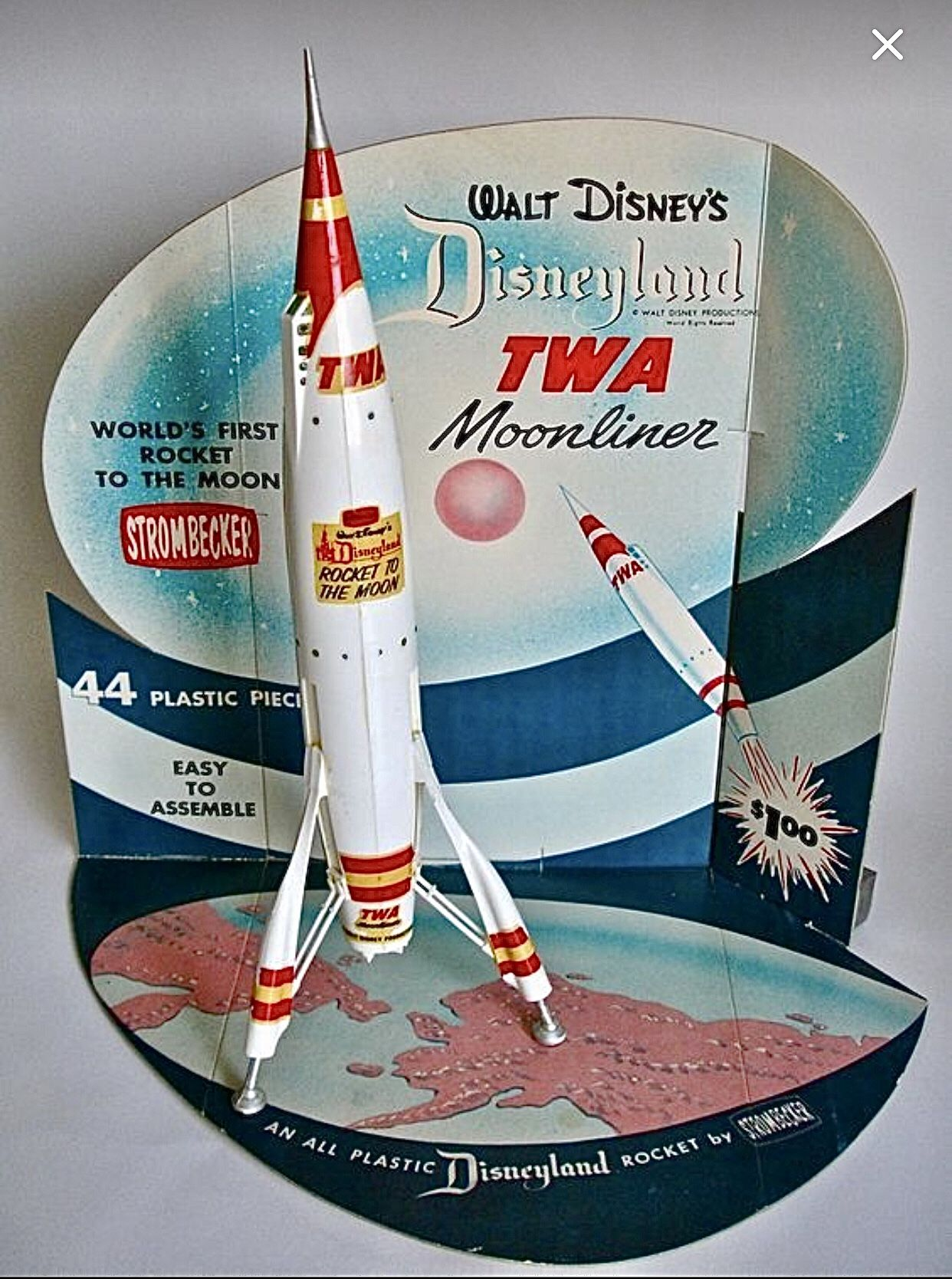 Pin By Salvatore Disanto On Cool And Retro Retro Toys Space Toys Vintage Disneyland