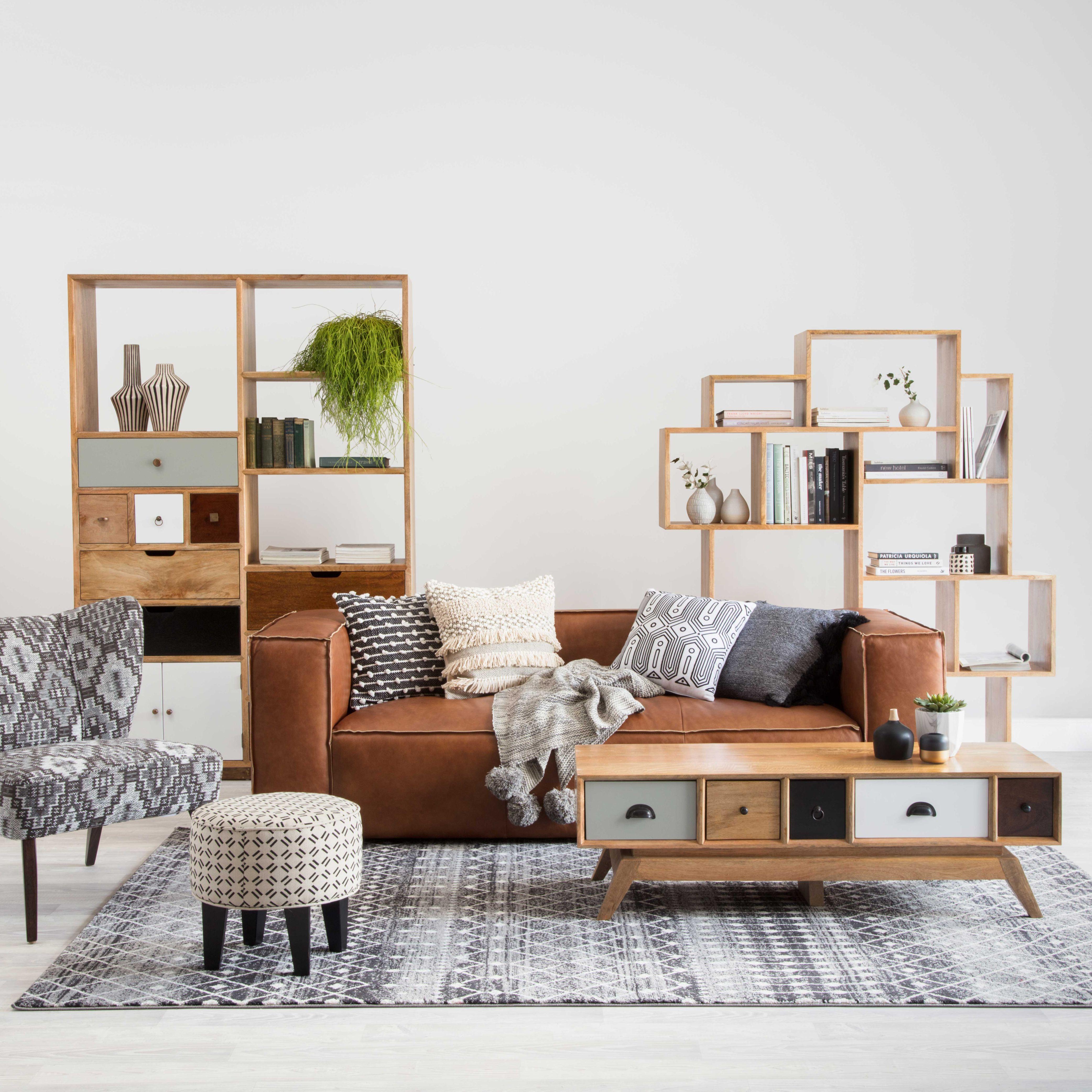 Exceptional Brunswick Leather Sofa And Porto Big Boy Storage. Ada Designer Chair Also  Featured