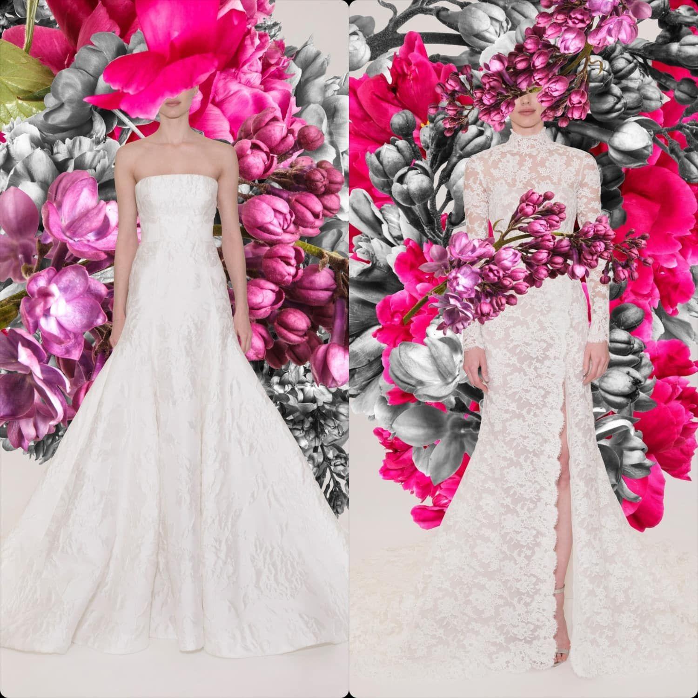 Reem Acra Bridal Spring Summer 2021 New York RUNWAY