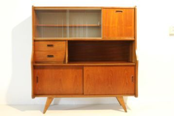 50 Jaren Kast.Vintage Jaren 50 60 70 Retro Deens Design Wandkast Dressoir