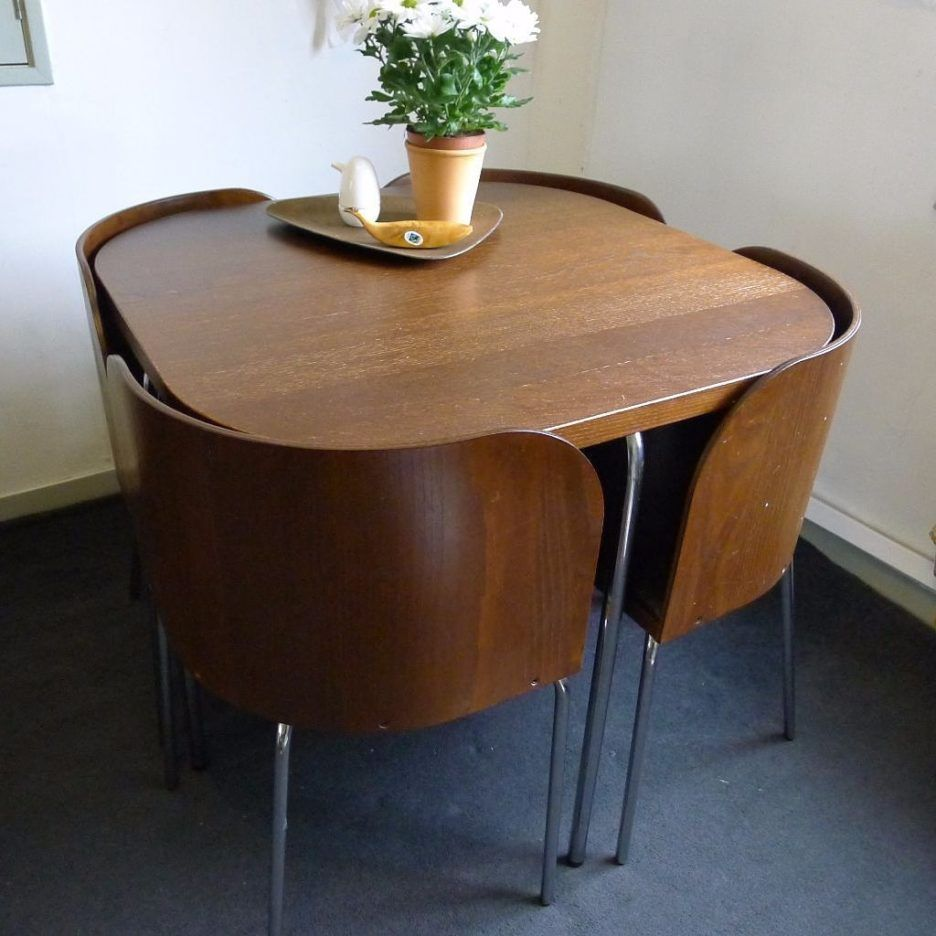 Fashionable Space Saving Dining Tables For Small Space Folding