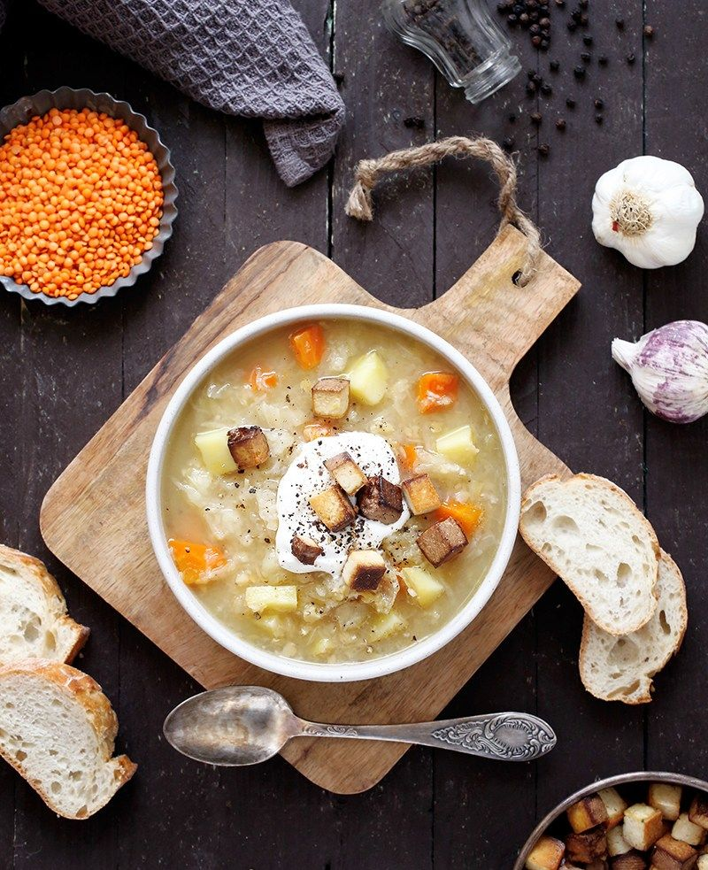 Sauerkraut Soup With Smoked Tofu Best Healthy Recipes 3
