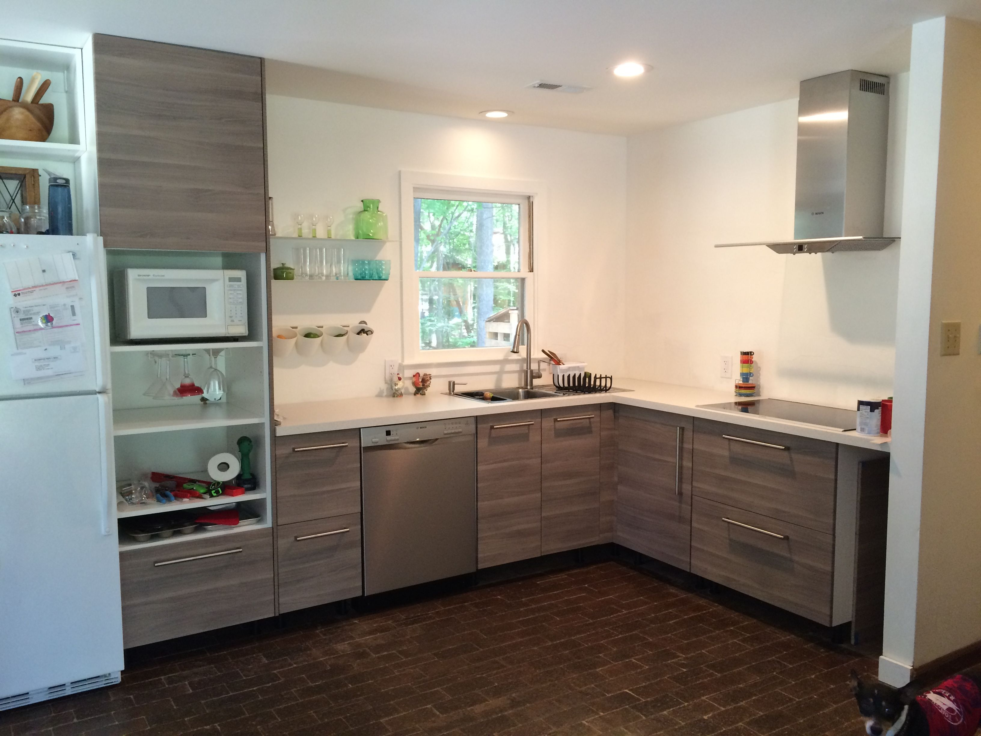 Ikea brokhult kitchen cabinets Kitchen Pinterest