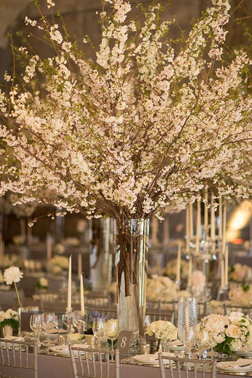Cherry Blossoms Transformed This New York City Wedding Into a ...