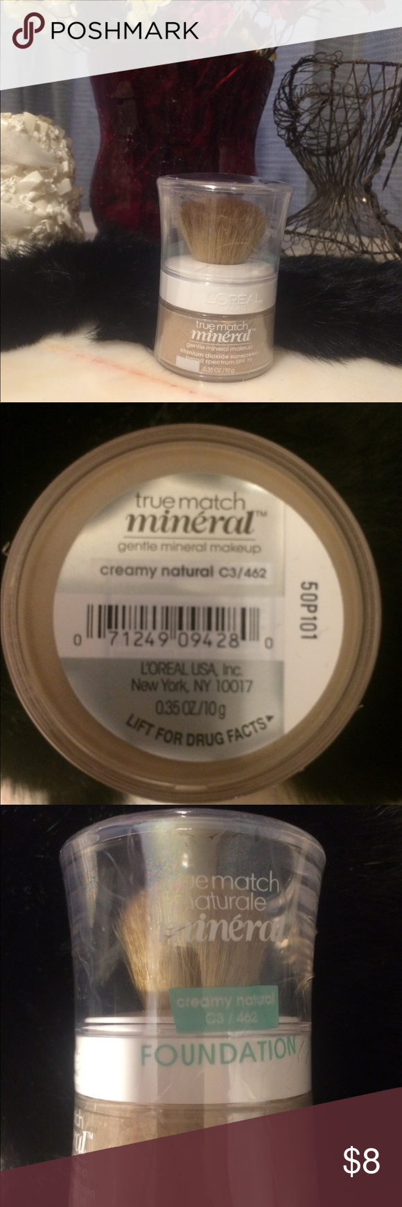 L'Oréal true match mineral foundation Creamy natural C3