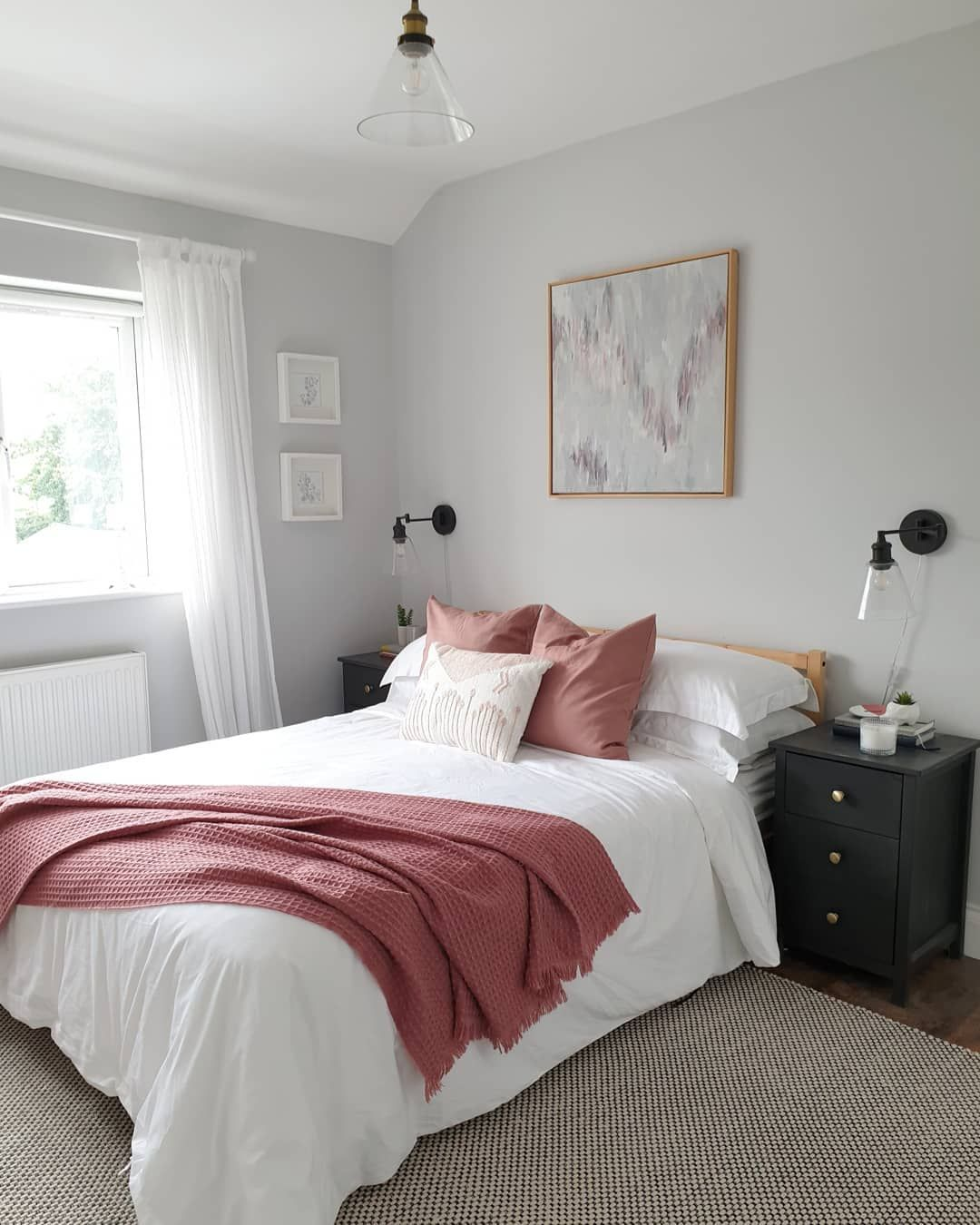 Best Pale Blue Grey Master Bedroom Farrow And Ball Dimpse 400 x 300