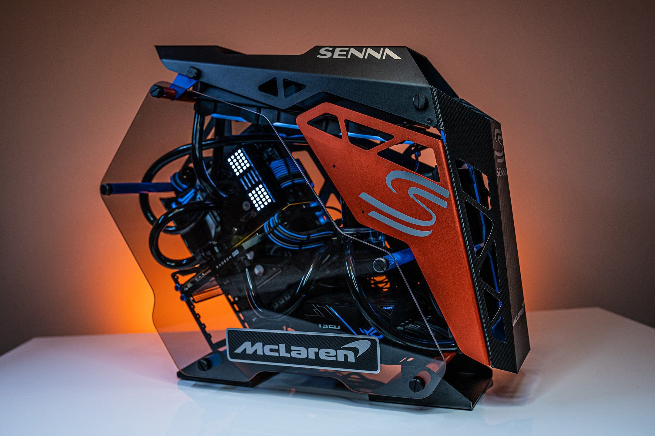 If the mclaren senna was a gaming pc itd look like this
