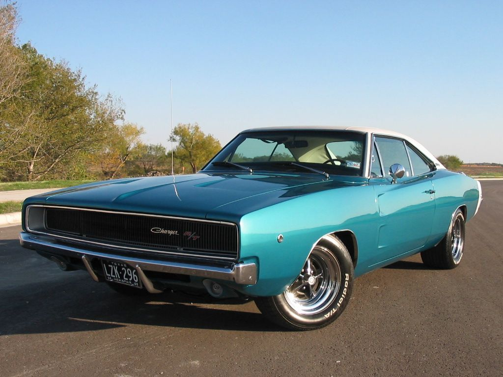 1968 dodge charger and i even like the color