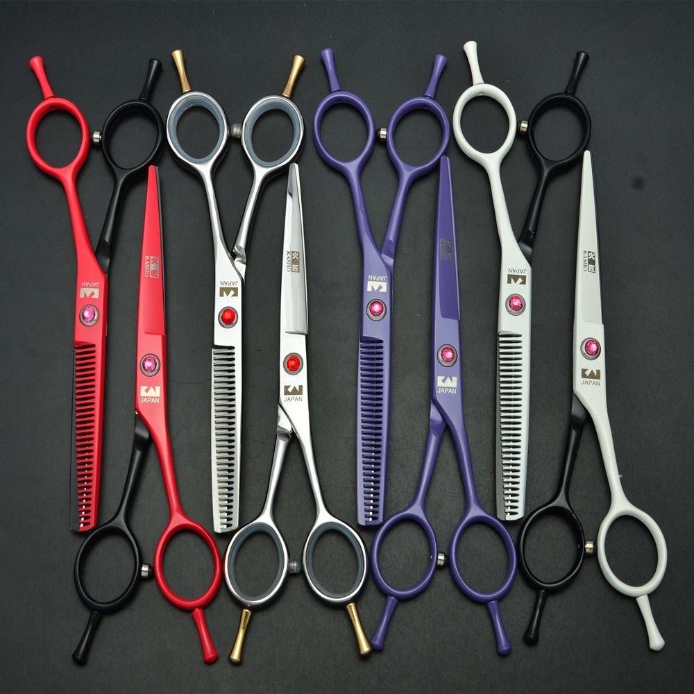 5 5 Pouce 440c Japon Kasho Professionnel Ciseaux De Cheveux Humains De Coiffure Cisailles Ciseaux A Effiler Cheveux Styling Outi Hair Scissors Scissors Hair Tools