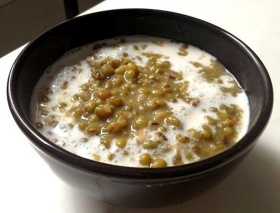Resep Cara Membuat Bubur Kacang Ijo Yang Sedap Makanan Penutup Kacang Hijau Makanan