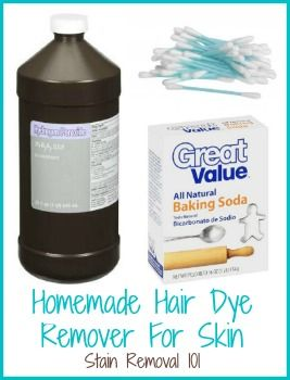 Tips For Removing Hair Dye From Skin Homemade Hair Products Homemade Hair Dye Dye Remover