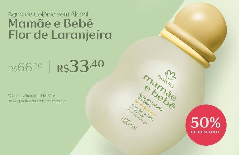 Compre Online A Agua De Colonia Flor De Laranjeira Sem Alcool Pela